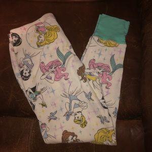 Disney Princesses Juniors XS Thermal Leggings